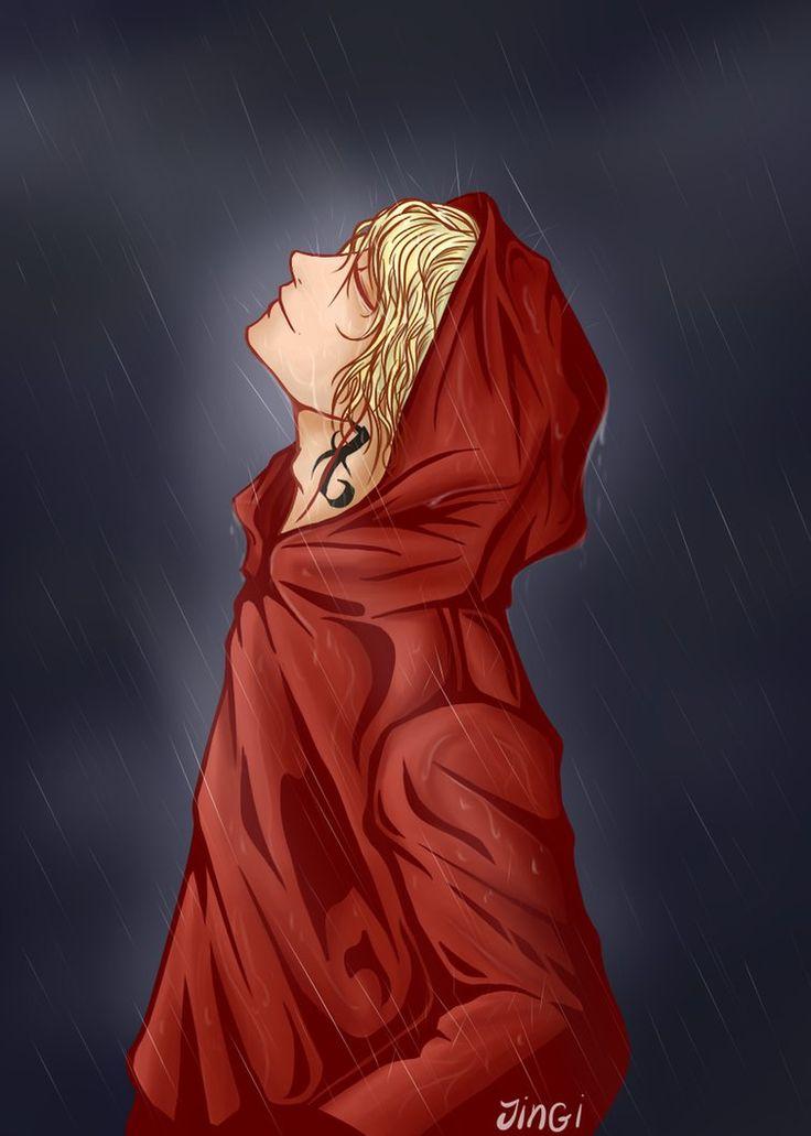 Jace Herondale. I'm woking in the rain lalala, I'm woking in th rain
