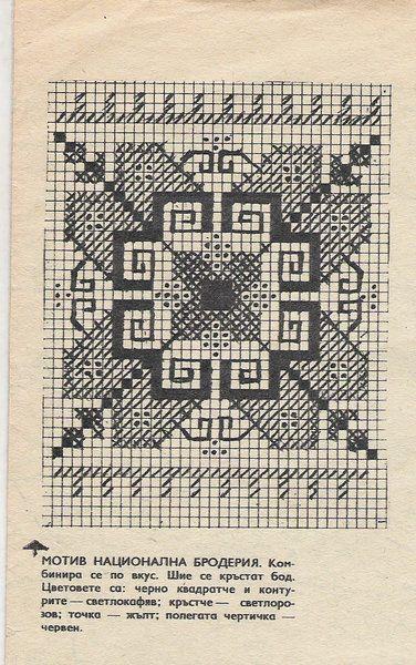 Gallery.ru / Фото #20 - Болгарская вышивка, схемы из журналов бабушки - welmur