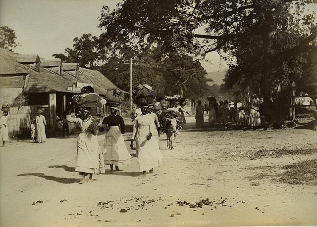 Half Way Tree, Jamaica 1880's....wow