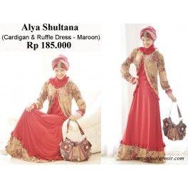 Alya Shultana Cardigan - Model Busana Muslim Ramadhan