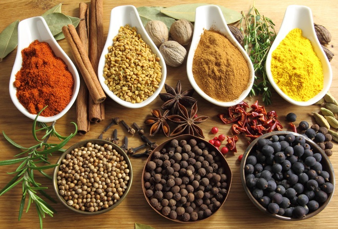 Spices! That is what is important in the preparation of food, do you agree?