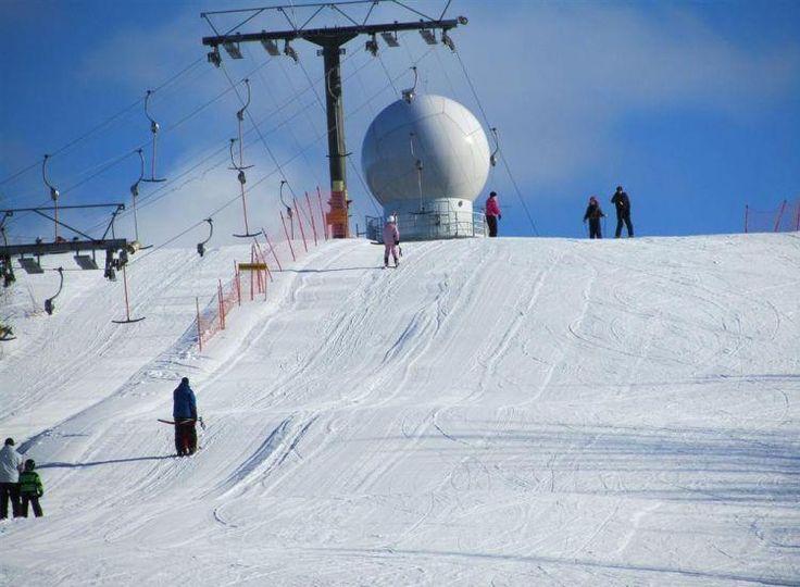 Lakis-Lakeaharju ski slope. Vimpeli, South Ostrobothnia province of Western Finland. - Etelä-Pohjanmaa.
