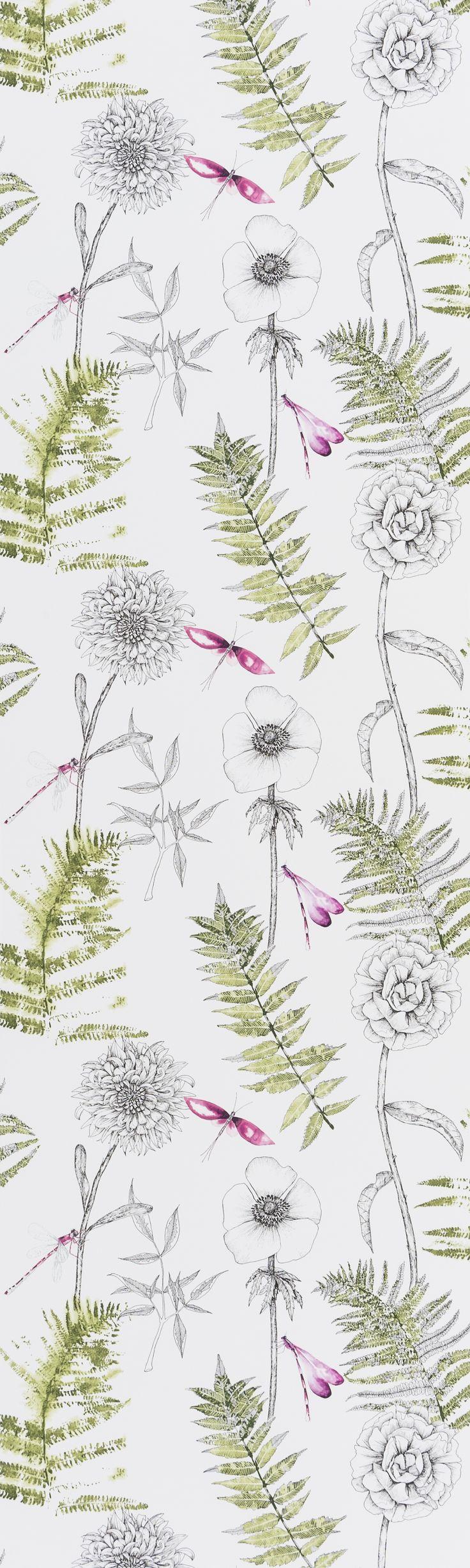 Designers Guild Acanthus Moss wallpaper
