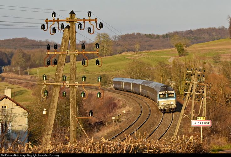 CC 72074 SNCF CC 72000 at La Creuse, France by Jean-Marc Frybourg