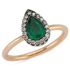 emerald diamonds ring http://goo.gl/Xz1YM
