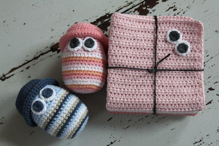 A sweet gift ide for small kids #diy #freepattern #crochet