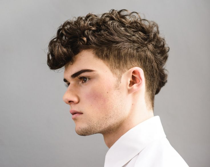 Wavy Hair Styling: 1000+ Images About Curly Haircuts For Men On Pinterest