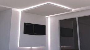 Resultado de imagen de falso techo pladur luz indirecta