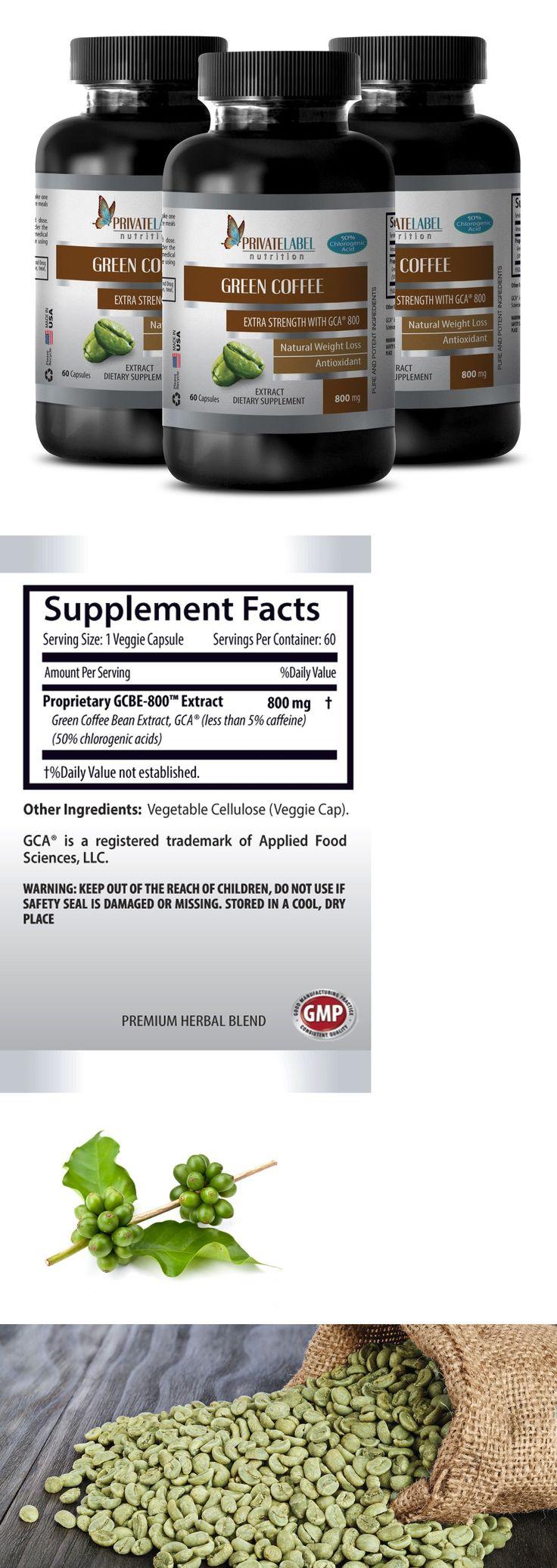 Appetite Control Suppressants: Fat Burner Pills Men - Green Coffee Gca® 800Mg 3B - Green Coffee Enema Kit -> BUY IT NOW ONLY: $31.95 on eBay!