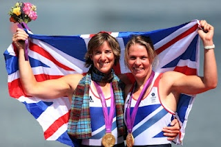 London 2012: Grainger and Watkins Take Gold  Katherine Grainger's quest for Olympic glory is complete after she won a gold medal with Anna Watkins in the women's Double Sculls.