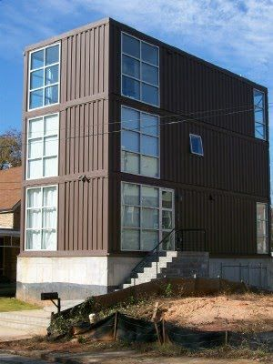Proyecto pragmalia 248 edificios de bajo costo con contenedores taller pinterest - Casa contenedor maritimo precio ...