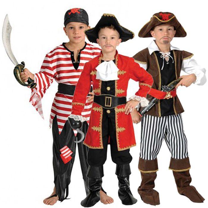 αποκριάτικες στολές για αγόρια - στολές Πειρατή