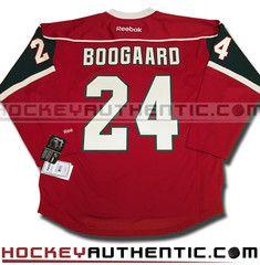 Derek Boogaard Minnesota Wild home Reebok jersey | Hockeyauthentic.com