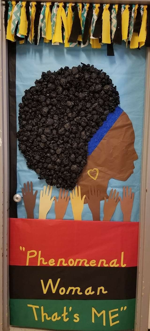 Classroom Door Decoration Ideas For Black History Month ~ Pin by denise credit on classroom door black history