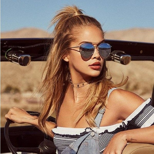 Quay Indio Silver Blue Mirrored Jasmine Sanders Aviator Sunglasses ($65) ❤ liked on Polyvore featuring accessories, eyewear, sunglasses, blue mirrored aviators, mirror sunglasses, blue aviator sunglasses, oversized sunglasses and silver aviator sunglasses