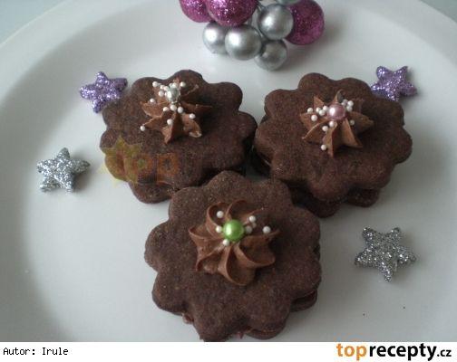 Kakaové květinky200 g hladké mouky 40 g kakaa 70 g moučkového cukru 1 vanilkový…