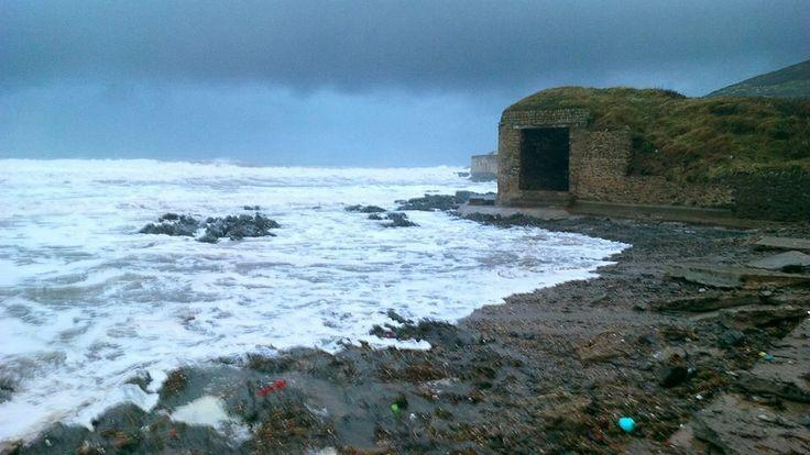High tide at Croyde, North Devon #NDevon #NorthDevon