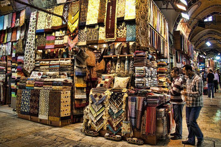 The Grand Bazaar Istanbul, Turkey