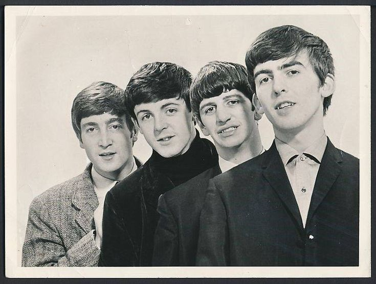 Original Beatles photo 1963 by Dezo Hoffmann - The Beatles Photo Vault