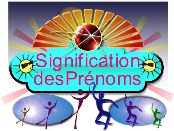 Logo des  Prénoms