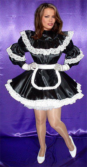 14 Best French Maid Images On Pinterest  Sissy Maids -1350