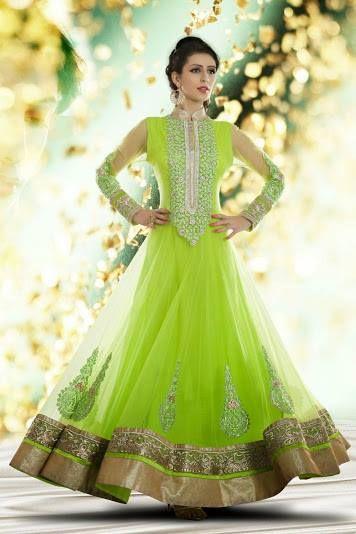 Green Anarkali #salwaar kameez #chudidar #chudidar kameez #anarkali #anarkali suits #dress #indian #hp #outfit  #shaadi #bridal #fashion #style #desi #designer #wedding #gorgeous #beautiful