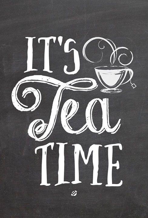 // it's tea time!