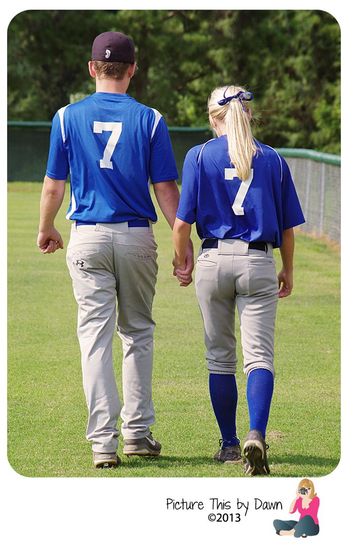 Softball & Baseball couples session Want to see more?  https://www.facebook.com/picturethisbydawn
