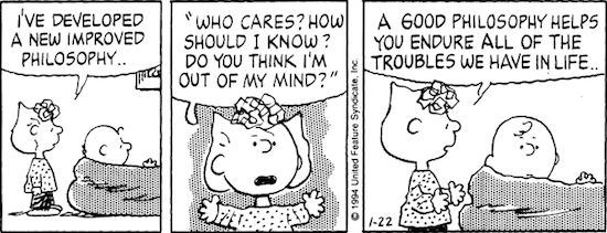 January 22, 1994 — see The Complete Peanuts 1991-1994