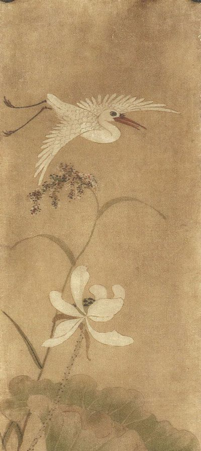 flower-and-bird-korean-paintings-ananzon.jpg (400×895) Shin Saimdang