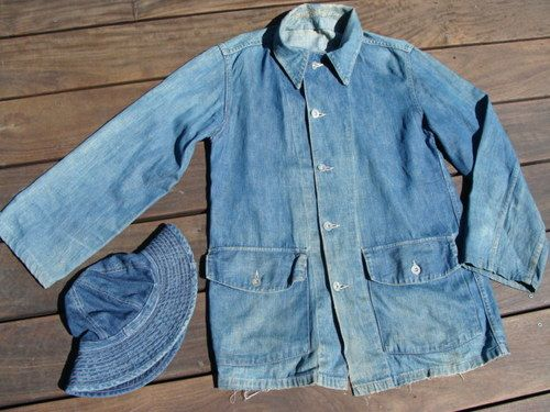 US Army M1940 Denim Work Jacket and Daisy Mae