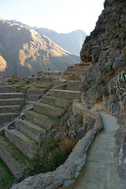 Fortezza di Ollantaytambo, Peru - AMAZING! Didn't explore it enough!