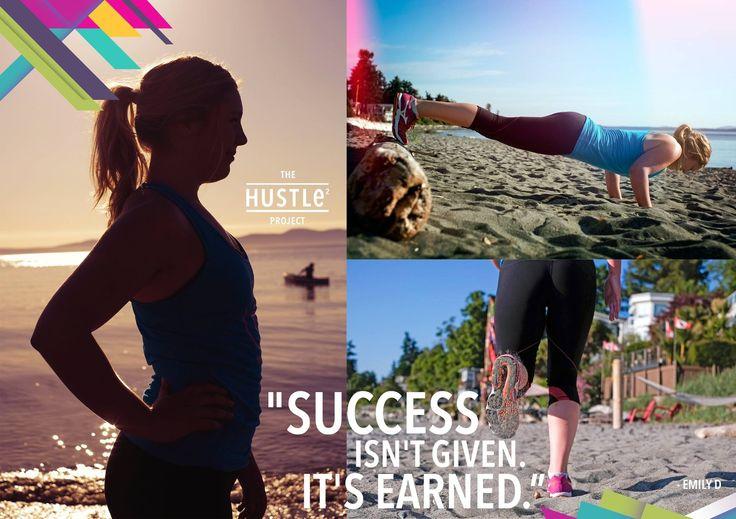 Success isn't given, it's earned.