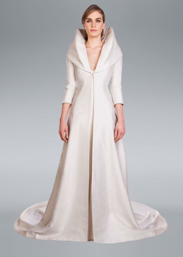 Alberta Wedding Coat Amanda Wakeley Designer Collection