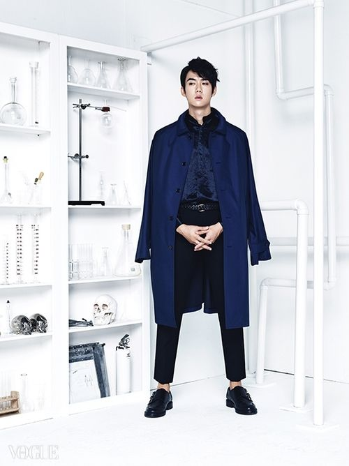 Yoo Yun Suk - Vogue Magazine October Issue '14