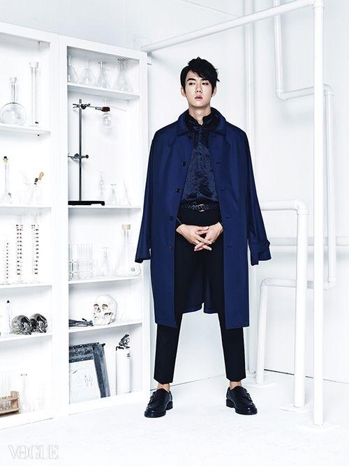 Yoo Yun Suk - Vogue Magazine October Issue '14