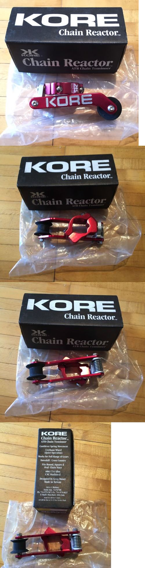 Other Bike Components and Parts 57267: Nos Kore Chain Reactor Tensioner Mtb Single Speed Red Anodized Ringle Kooka -> BUY IT NOW ONLY: $72.99 on eBay!