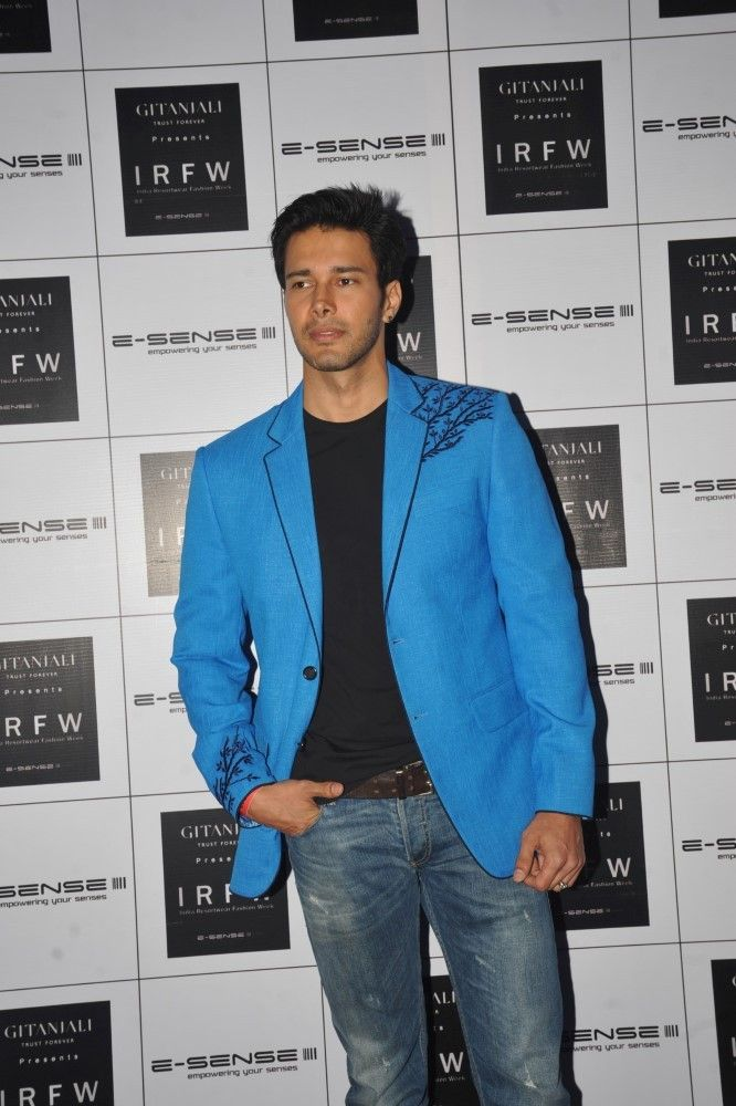 Rajneesh Duggal at India Resort Fashion Week 2013
