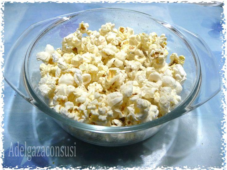 Adelgaza Con Susi: Snack Saludable: Palomitas sin aceite al microondas (97kcal)