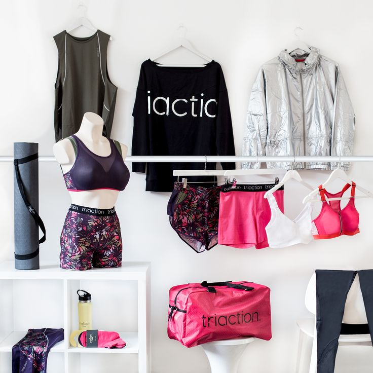 Meet the Triaction family! There's something for everyone, and we'll make sure to meet the needs of your sporty lifestyle...  #NewCollection #SportswearSS18 #Triaction #TriactionbyTriumph #TriumphLingerie #TriumphFindTheOne #TriumphSportswear#SS18