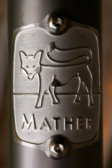 mather headbadge: Mather Bike, Mather Fantasy, Cycling Design, Bikes N Bit, Robins Mather, Bike Looks, Fantasy Bike, Bike Headbadg, Head Badges