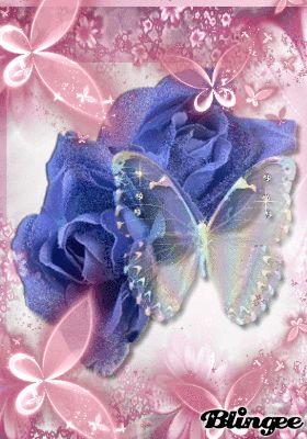 imagenes de rosas blingee - Google Search