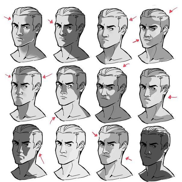 Lighting Reference For Face Tony Reynolds Photo Reference Face Art