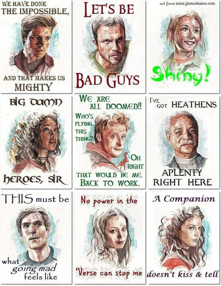 firefly / iconic quotes
