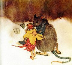 """Thumbeline"" by Hans Christian Andersen; illustrations by Lisbeth Zwerger."