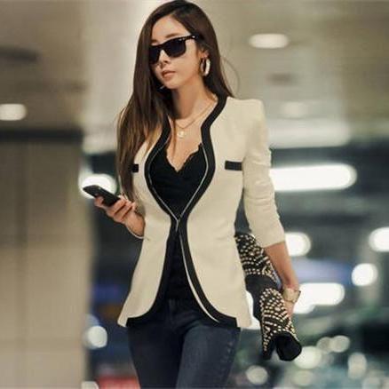 blazer kerja wanita korea model terbaru harga paling murah kualitas paling terbaik diantara penjual jas kerja wanita yang berkualitas di solo online