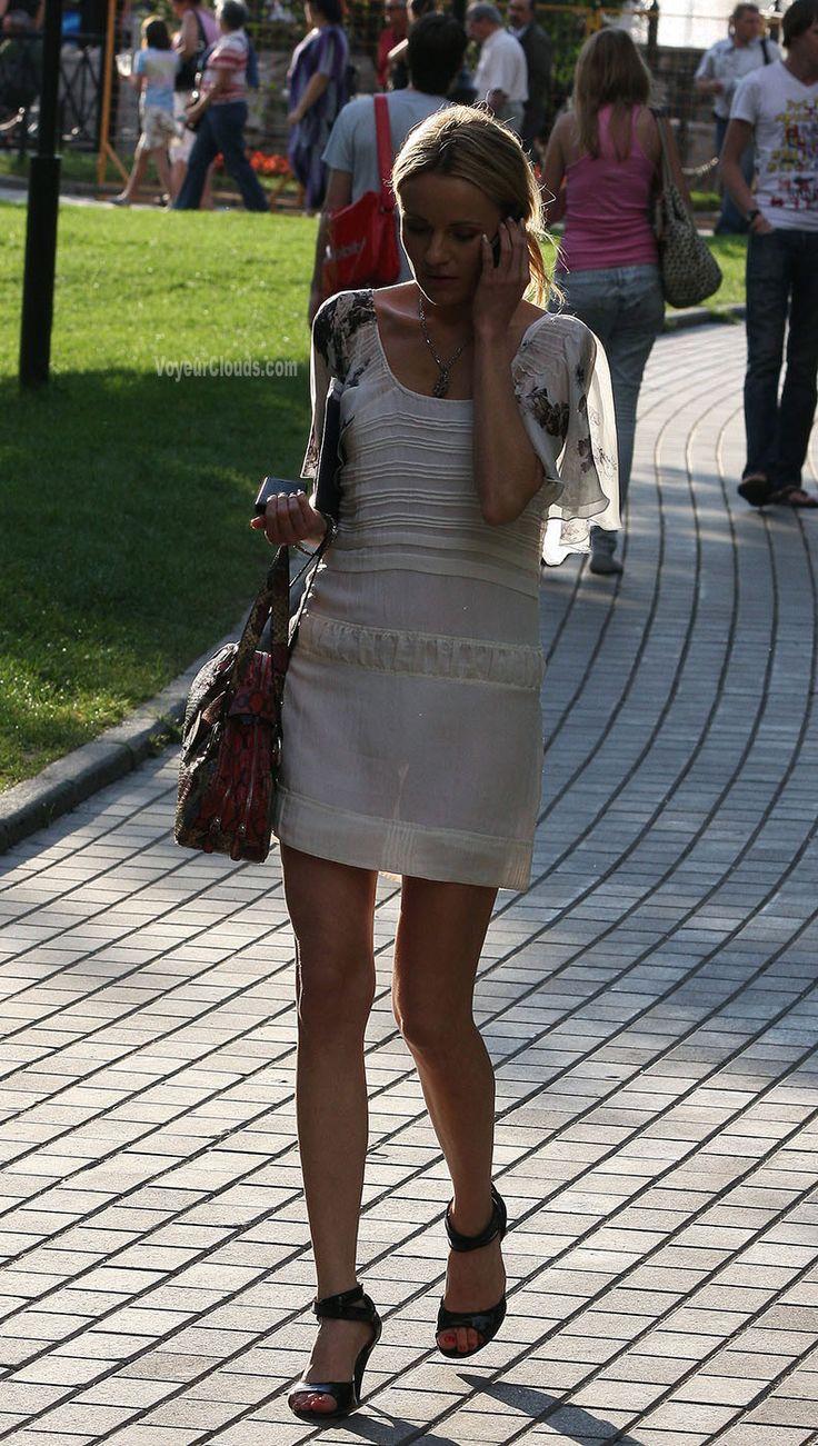 Фото прозрачных платьев с улицами #9