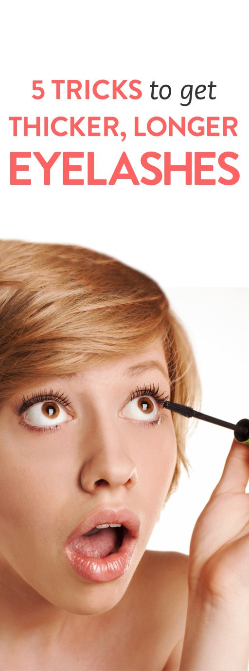 5 Tricks to Get Thicker, Longer Eyelashes