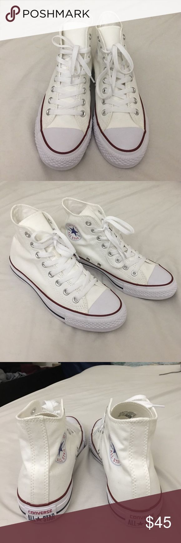 Converse Chuck Taylor All Star High Top Brand new never used High Top Converse. Unisex, 8.5 for women size and 6.5 for men. Converse Shoes Sneakers