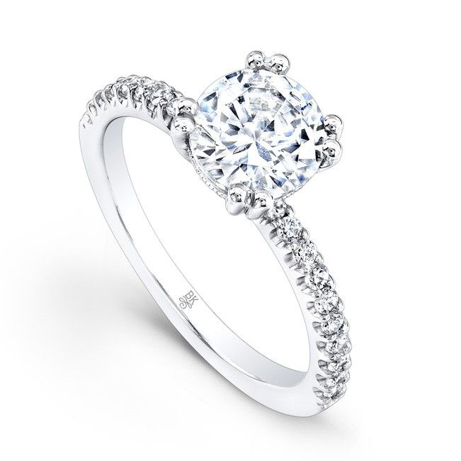 Awesome Diamond Engagement Ring by Beverly K at Mystique Jewelers Alexandria Virginia VA Custom Jewelry and Jewelry Repair Alexandria Virginia VA